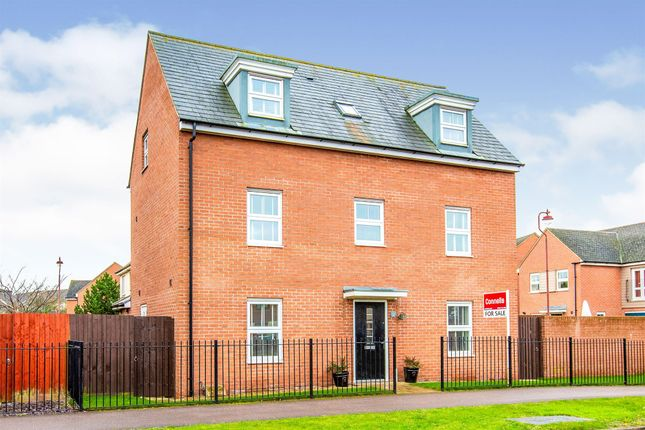 Thumbnail Detached house for sale in Sterling Way, Upper Cambourne, Cambridge