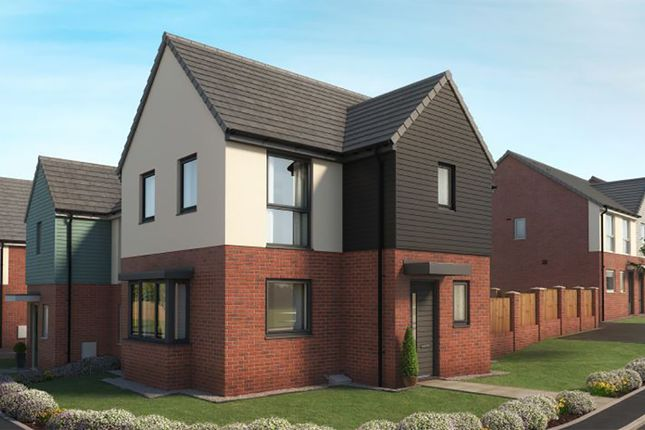 """3 bed property for sale in """"The Sinderby"""" at Eaves Lane, Bucknall, Stoke-On-Trent ST2"""
