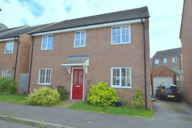 Thumbnail Detached house for sale in Cable Crescent, Woburn Sands, Milton Keynes
