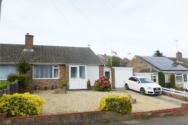 Thumbnail Semi-detached bungalow for sale in Heathfield Road, Stroud, Gloucestershire