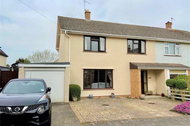 Thumbnail Semi-detached house for sale in Spearcey Lane, Staplehay, Somerset