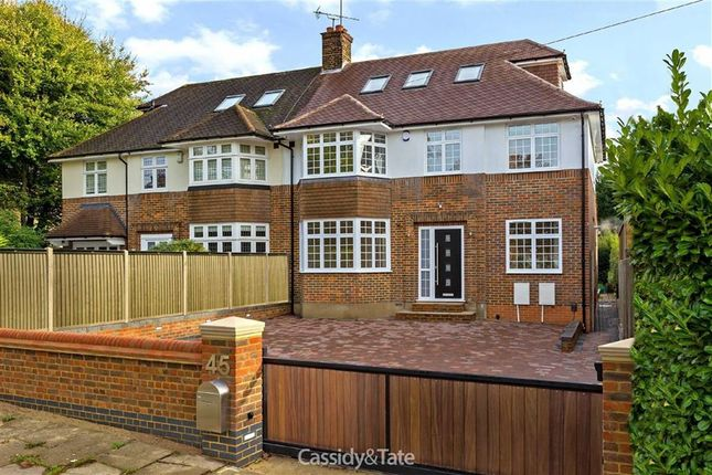 Thumbnail Semi-detached house for sale in Watling Street, St Albans, Hertfordshire