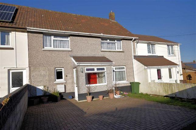 Thumbnail Terraced house for sale in Town Park, Torrington