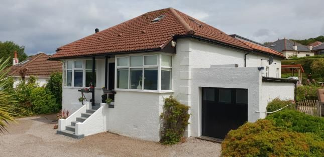 Thumbnail Bungalow for sale in Station Road, Skelmorlie, North Ayrshire