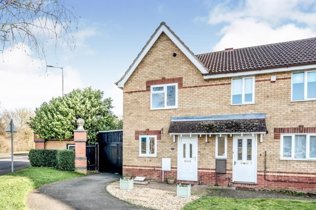 Thumbnail Terraced house for sale in Meadowsweet Drive, Elstow, Bedford, Bedfordshire