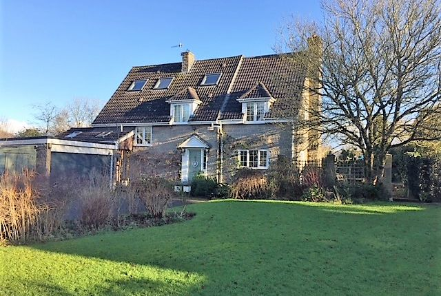 Thumbnail Detached house for sale in Monkton Deverill, Warminster