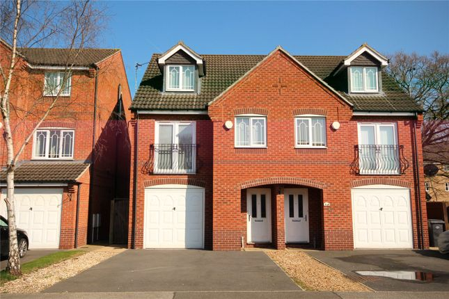 Thumbnail Semi-detached house to rent in Grandfield Way, North Hykeham