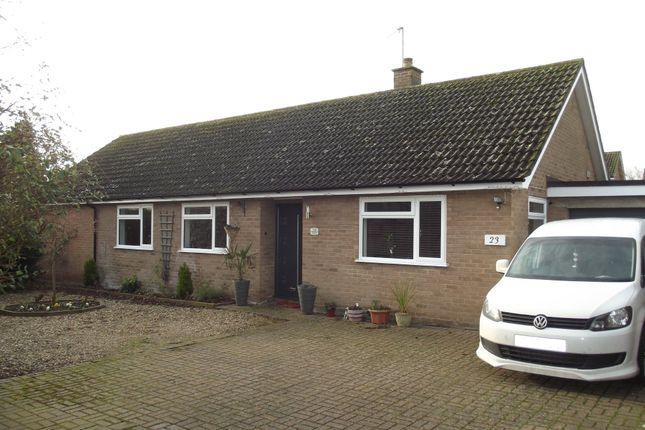 Thumbnail Detached bungalow for sale in Briar Hill, Woolpit, Bury St. Edmunds