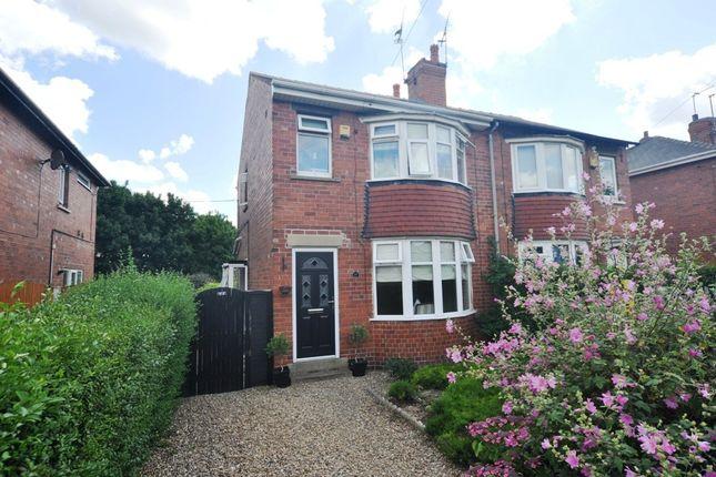 Thumbnail Semi-detached house for sale in Ingleborough Drive, Sprotbrough, Doncaster
