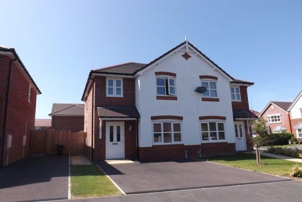 Thumbnail Property to rent in Ffordd Parc Castell, Bodelwyddan, Rhyl