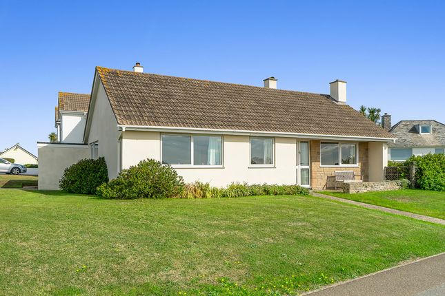 Thumbnail Detached bungalow for sale in Carew Close, Crafthole, Torpoint