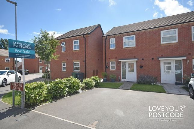 Thumbnail Semi-detached house for sale in Yorkshire Grove, Walsall
