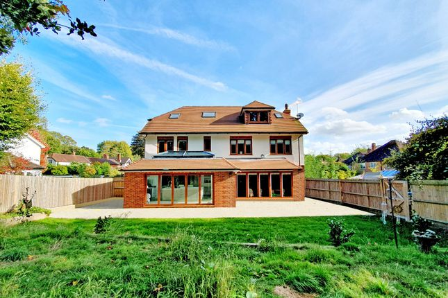 Thumbnail Detached house for sale in Farmhouse Close, Pyrford, Woking