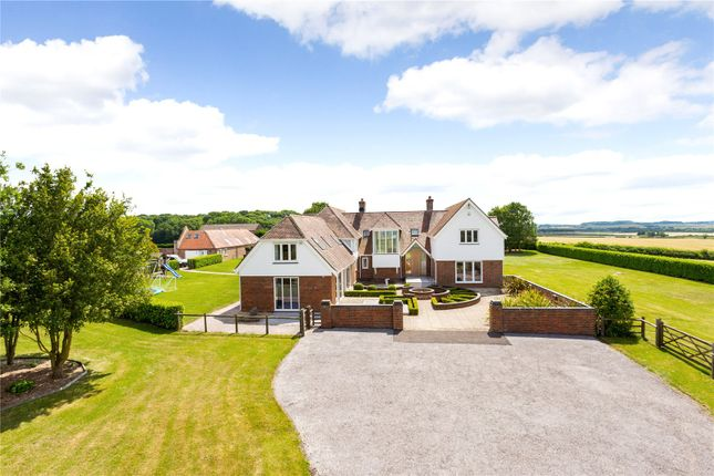 Thumbnail Detached house for sale in Chalbury, Wimborne, Dorset