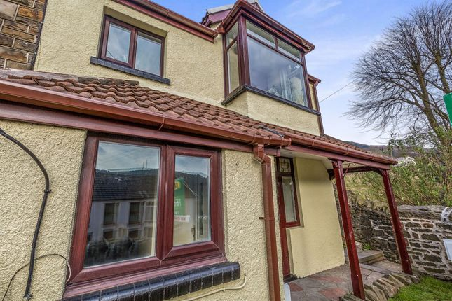 Thumbnail End terrace house for sale in High Street, Treorchy