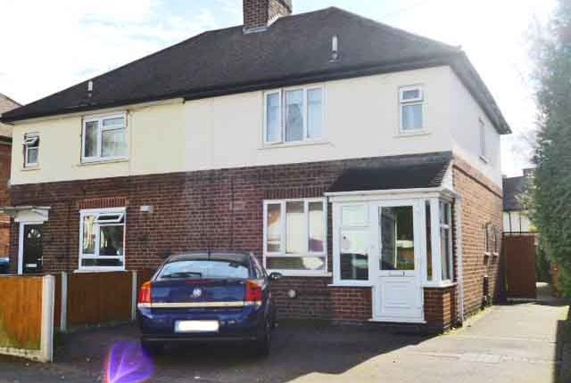 Thumbnail Semi-detached house to rent in Nevill Street, The Leys, Tamworth, Staffordshire