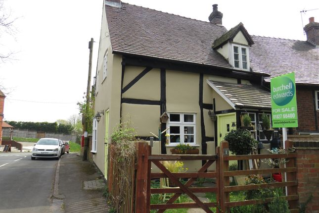 Thumbnail End terrace house for sale in Schofield Lane, Edingale, Tamworth