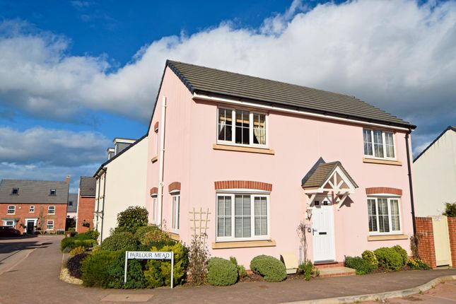 Thumbnail Detached house for sale in Parlour Mead, Culllompton
