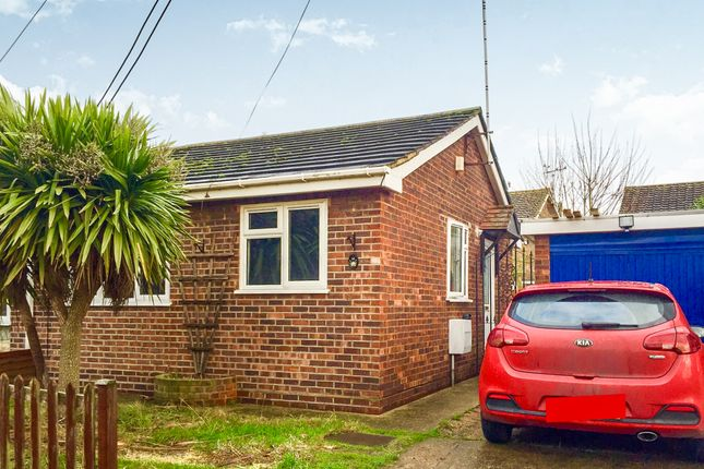 Thumbnail Semi-detached bungalow for sale in Munsterburg Road, Canvey Island