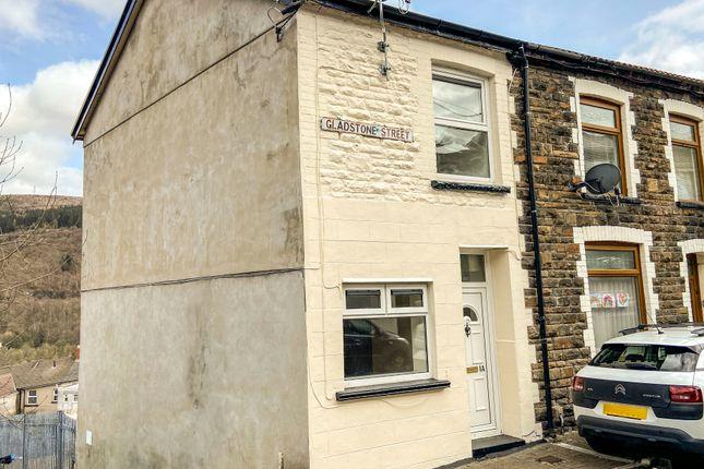 Thumbnail End terrace house to rent in Gladstone Street, Mountain Ash