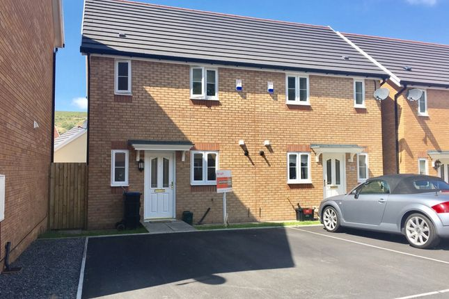 Thumbnail Terraced house to rent in Larch Lane, Tredegar