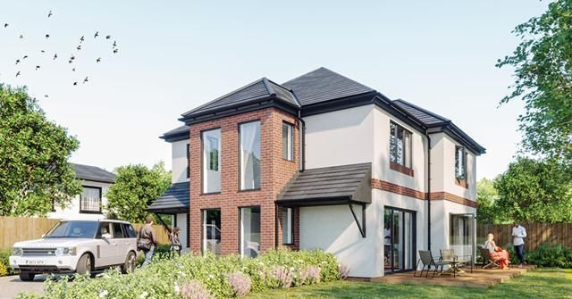 Thumbnail Detached house for sale in Darmonds Green, West Kirby