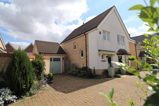 Thumbnail Detached house for sale in Field Gate Close, St. Neots