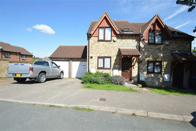 Thumbnail Semi-detached house for sale in Sibneys Green, Harlow, Essex