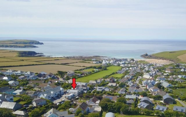 Thumbnail Semi-detached house for sale in Trevone Road, Trevone, Padstow