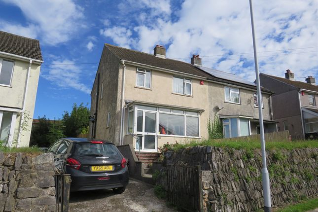 Thumbnail Semi-detached house for sale in Efford Lane, Laira, Plymouth