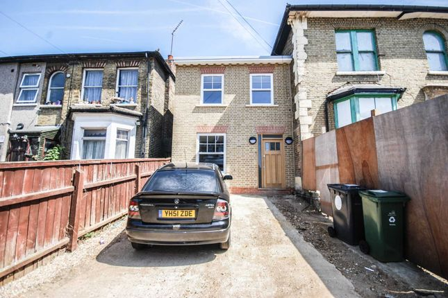 Thumbnail End terrace house for sale in Vicarage Road, London