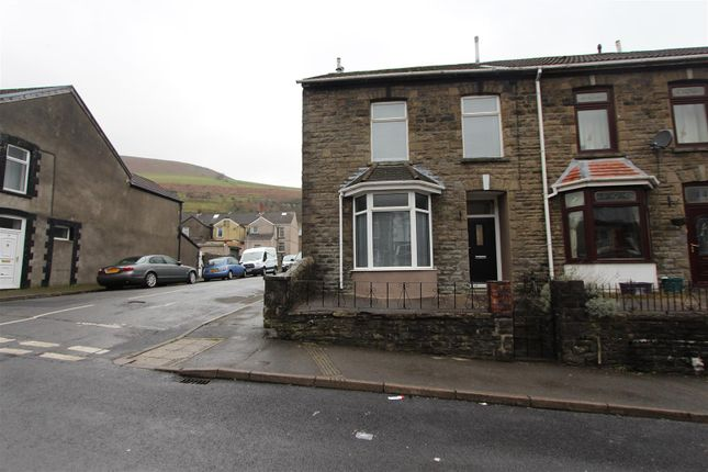 Thumbnail End terrace house for sale in Tridwr Road, Abertridwr, Caerphilly