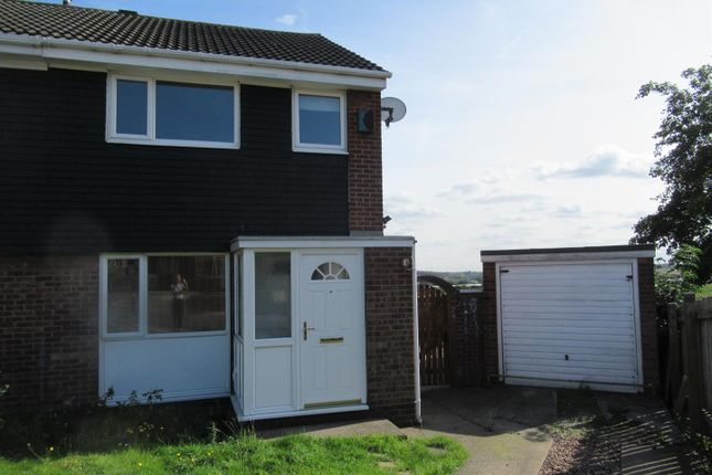 Thumbnail 3 bed semi-detached house to rent in Wood Hill, Rothwell, Leeds