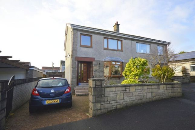 Thumbnail Semi-detached house to rent in Finlayson Quadrant, Airdrie, North Lanarkshire