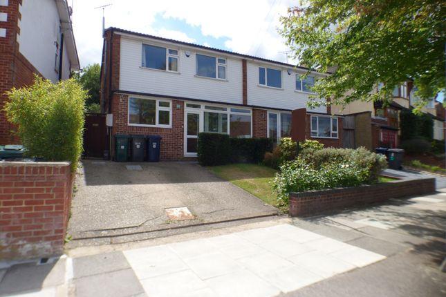 Thumbnail Semi-detached house for sale in Alverstone Avenue, East Barnet