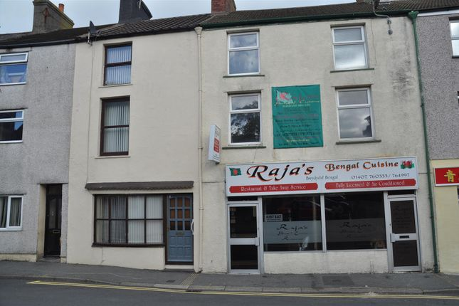 Thumbnail Flat for sale in Newry Street, Holyhead