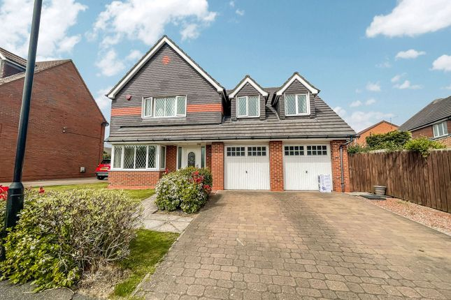 Thumbnail Detached house for sale in Hopton Drive, Ryhope, Sunderland