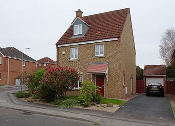 Thumbnail Detached house to rent in Fergusson Road, Dunfermline