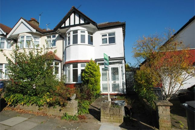 Thumbnail Semi-detached house for sale in Ashurst Road, North Finchley