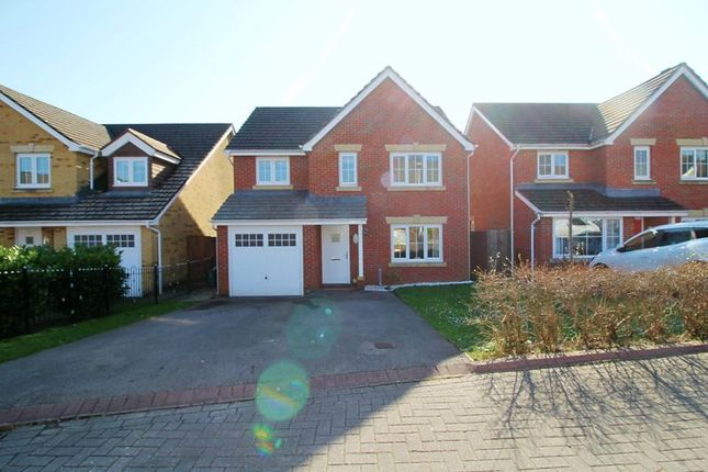 Thumbnail Detached house for sale in Barnard Way, Church Village, Pontypridd