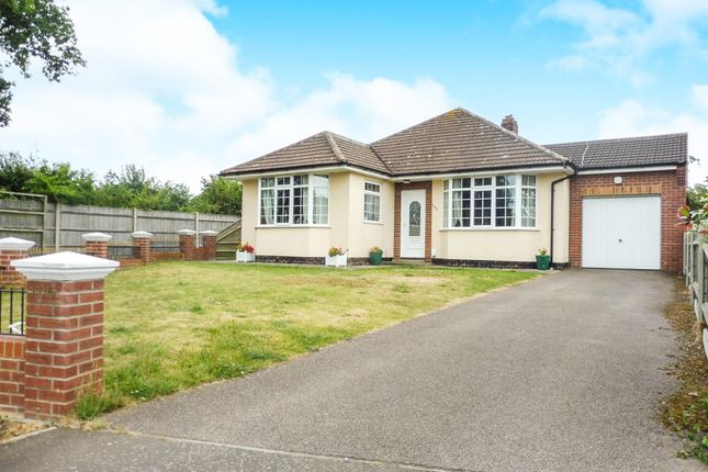 Thumbnail Detached bungalow for sale in Green Lane, Bradwell, Great Yarmouth