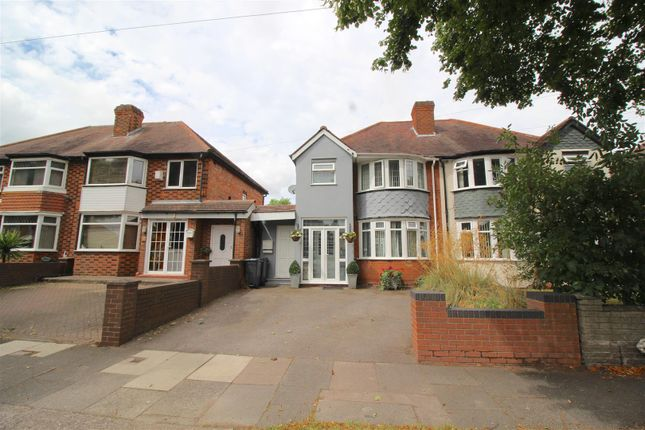Thumbnail Semi-detached house for sale in Sunnymead Road, Yardley, Birmingham