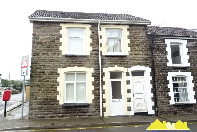 Thumbnail End terrace house to rent in John Street, Treforest, Pontypridd