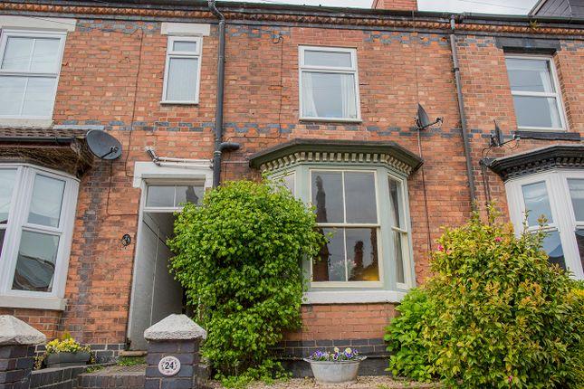 Thumbnail Terraced house for sale in Malvern Street, Stapenhill, Burton-On-Trent