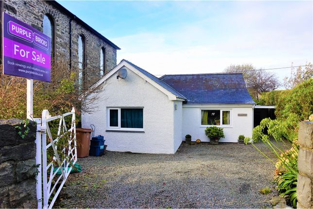 Thumbnail Detached bungalow for sale in High Street, Talsarnau