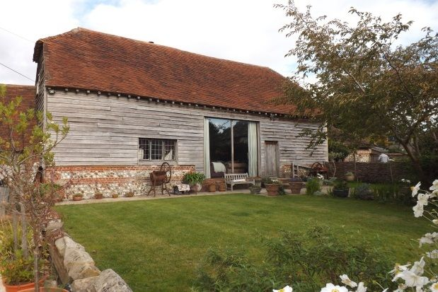 Thumbnail Barn conversion to rent in Hamsey, Lewes