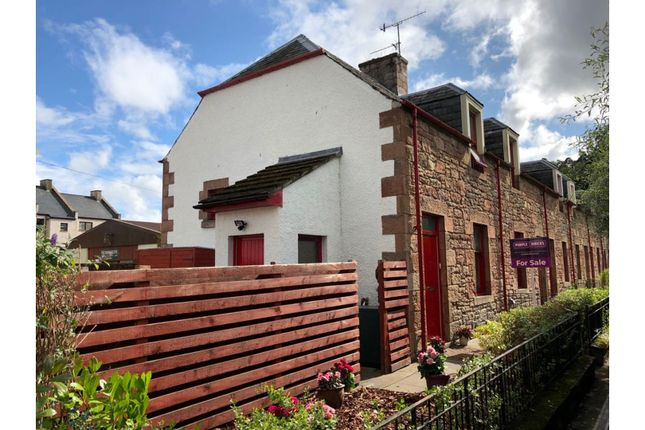 Thumbnail End terrace house for sale in Nicols Court, Dingwall