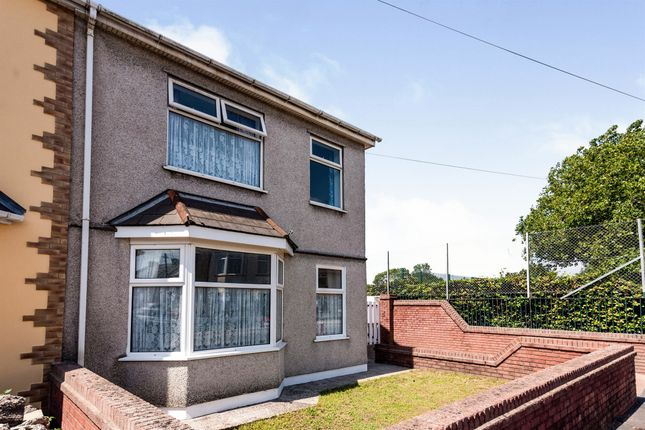 Thumbnail Semi-detached house for sale in Nash Road, Newport