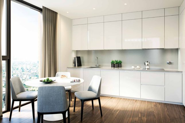 Thumbnail Flat for sale in Madeira Tower, Ponton Road, Nine Elms, London