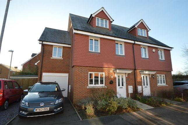 Thumbnail Semi-detached house for sale in Nazareth Close, Bexhill-On-Sea